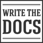 Write the Docs conference logo