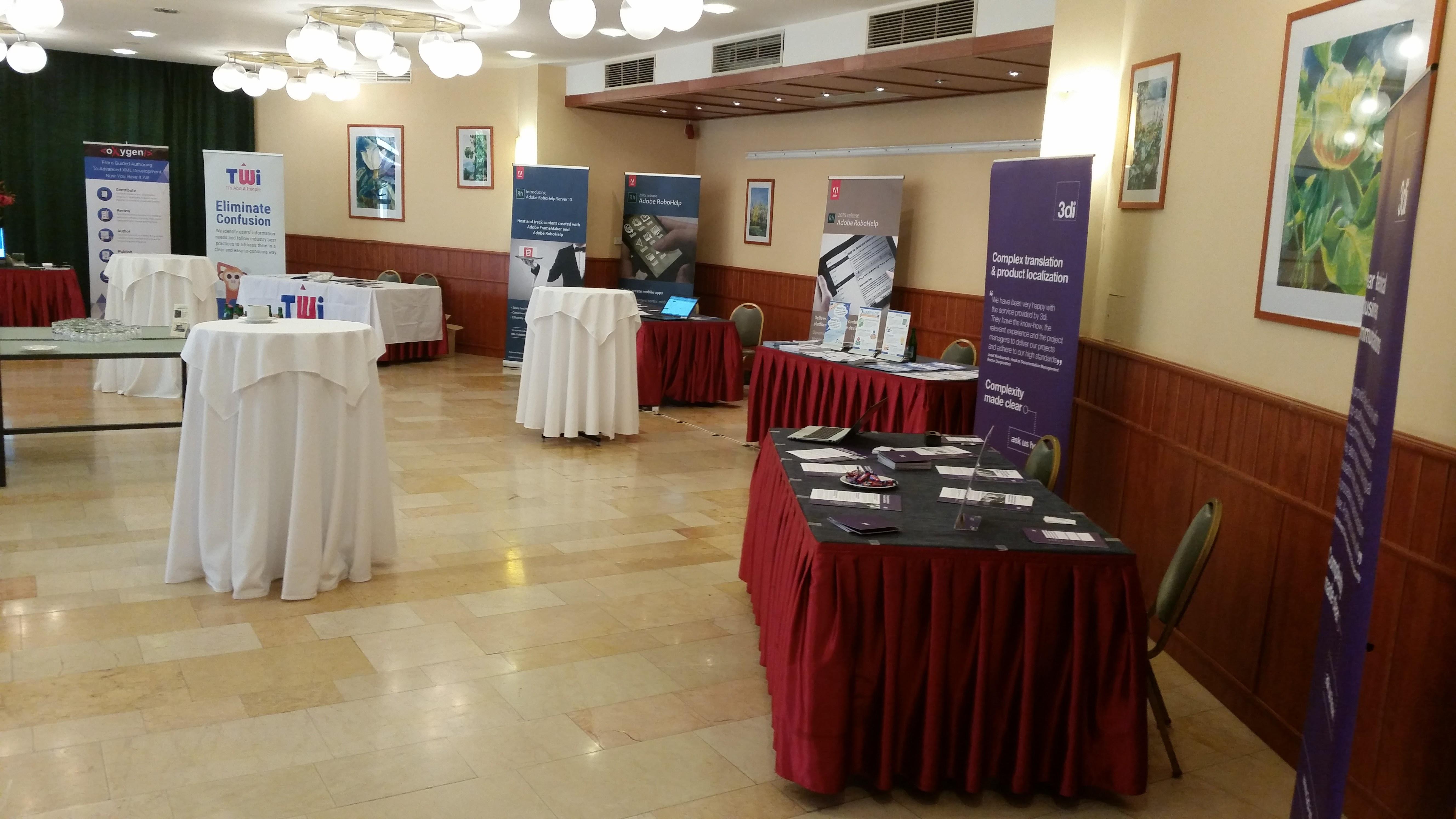 Sala wystawowa w hotelu konferencyjnym