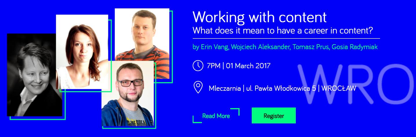 MeetContent Wrocław