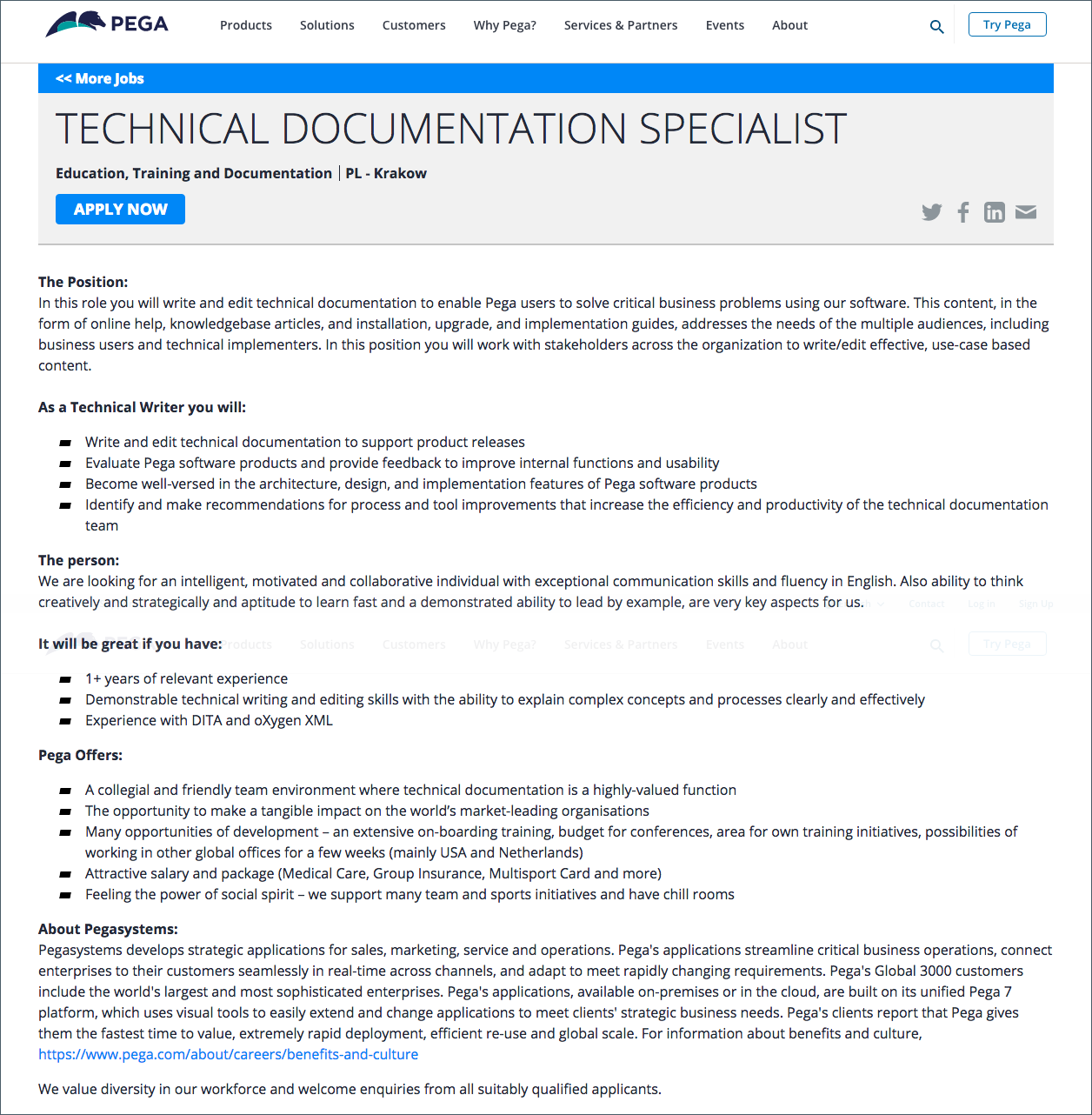 Technical documentation: writing for the right audience