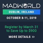 MadWorld Europe 2019 logo logo