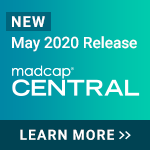 MadCap Central May 2020 Release